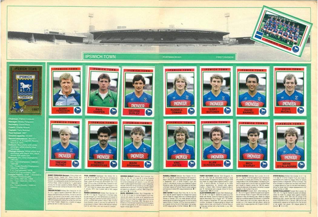 Ipswich Town 1985