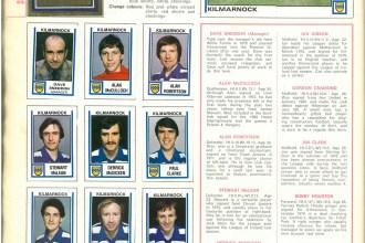 Kilmarnock 1981