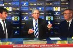 A problem with the balls in the Scottish Cup sixth round draw