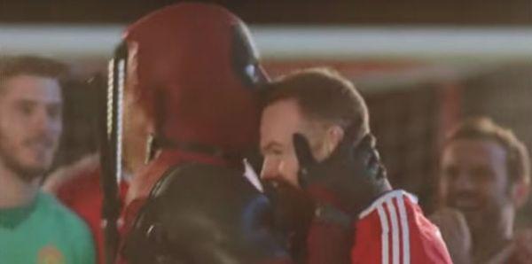 This Man Utd Deadpool trailer stars Wayne Rooney and others alongside Ryan Reynolds's antihero