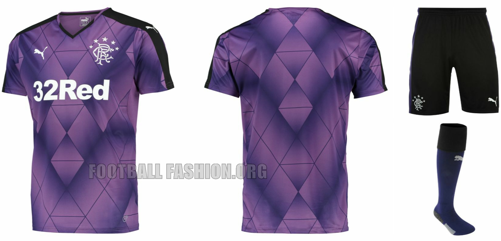 rangers fc 2015 16 puma third kit football fashion org