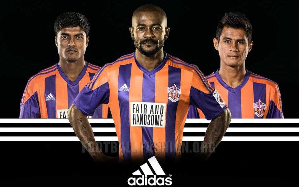 Indian Super League Side Fc Pune City Signed A Kit Deal With Adidas