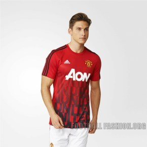 Manchester United Enam Adidas Pre Match Jersey Anthem Jacket Football Fashion Org