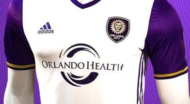 Orlando City SC 2016 adidas Away Soccer Jersey, Football Kit, Shirt, Camiseta de Futbol, Camisa