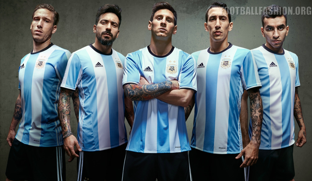 argentina 2016 copa am 233 rica adidas home kit football