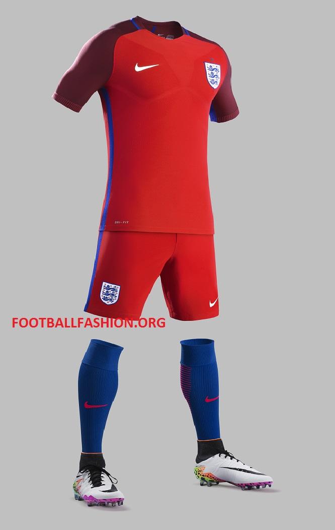 vans homme noir - England EURO 2016 Nike Home and Away Kits | FOOTBALL FASHION.ORG