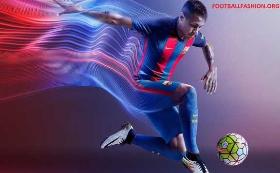 Fc Barcelona   Nike Home Football Kit Soccer Jersey Shirt