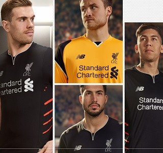 Liverpool FC 2016/17 New Balance Away Kit