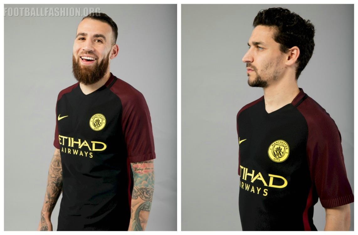 manchester city 2016 17 nike away kit football fashion org. Black Bedroom Furniture Sets. Home Design Ideas