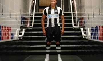 Newcastle United 2016 2017 PUMA Home Football Kit, Soccer Jersey, Shirt