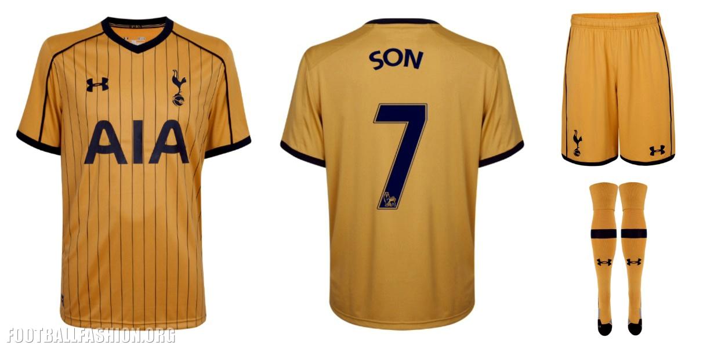 Tottenham Hotspur Enam Tujuh Under Amour Home Away And Third Kits Football Fashion Org