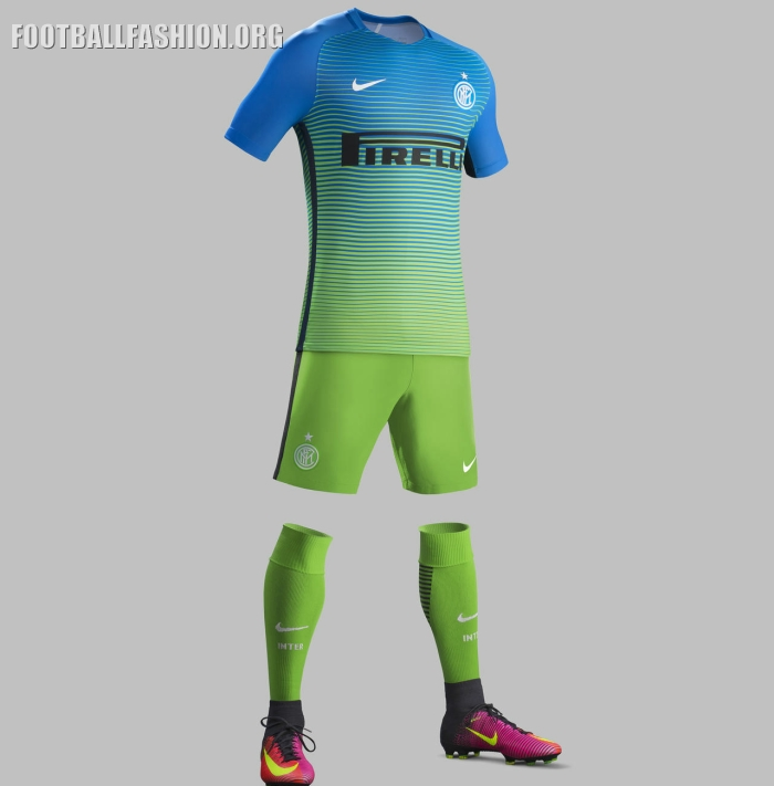 Inter Milan Enam Tujuh Nike Third Kit Football Fashion Org