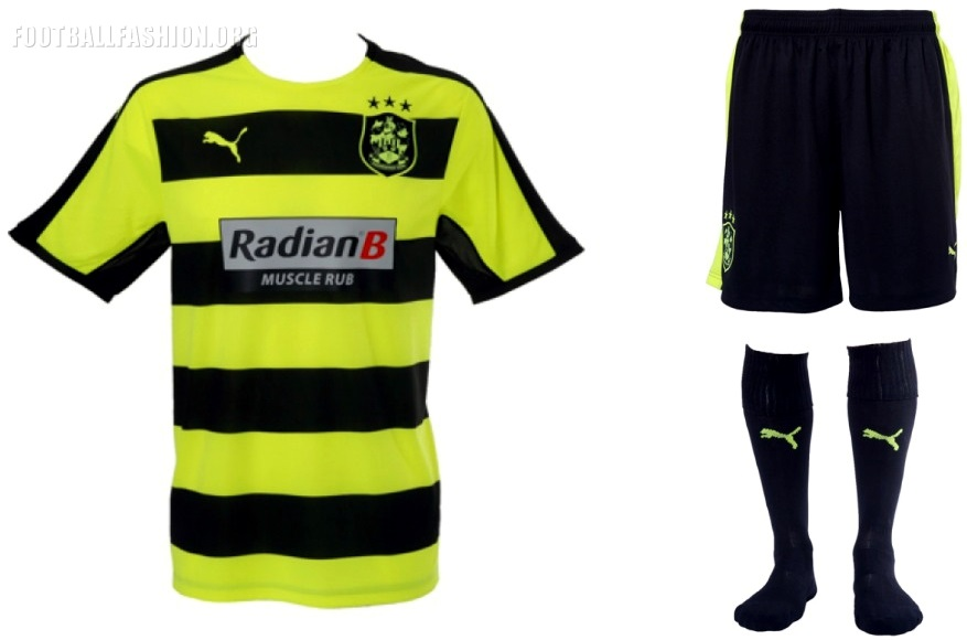 Huddersfield Town Fc   Puma Home Away And Third Football Kit