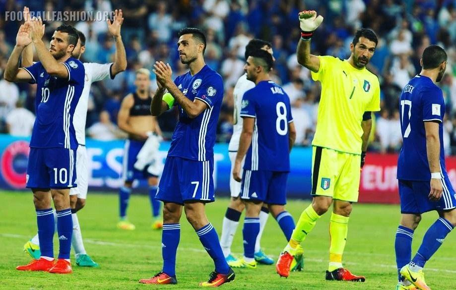 Israel 2016/17 adidas Away Kit