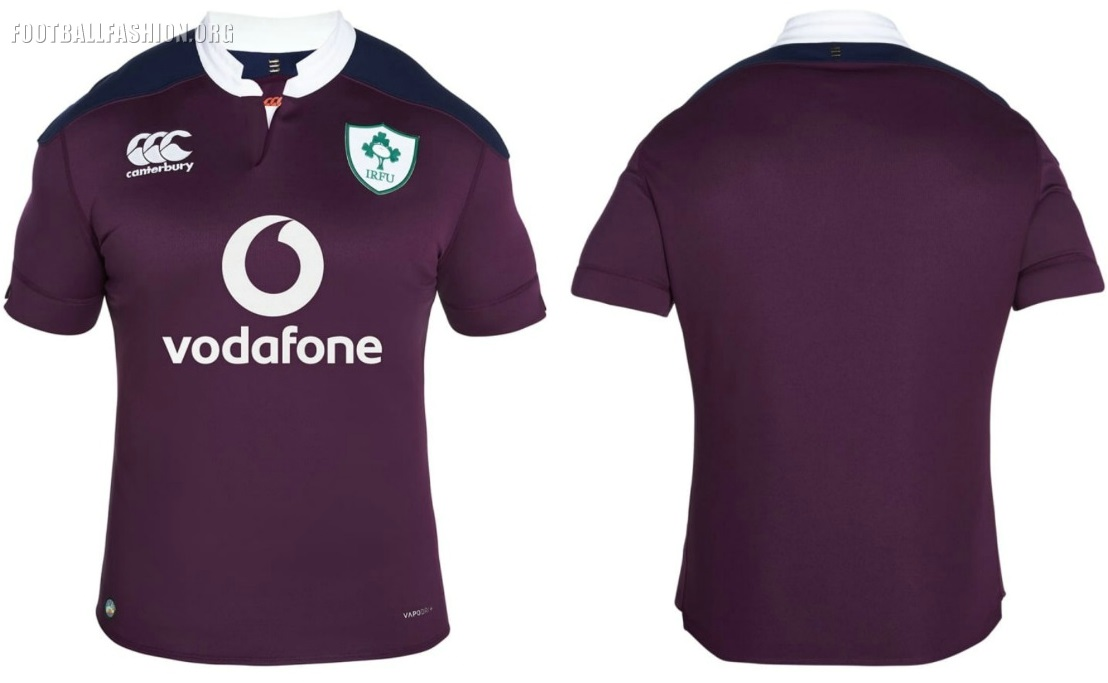 The Ireland  Canterbury Home And Away Rugby Kits Are Now On