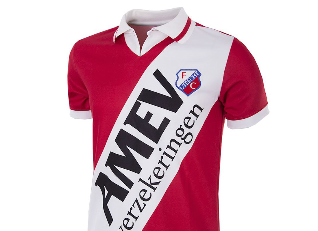 Vintage Shop Utrecht Fc Utrecht 1993 94 Copa Home Retro Football Shirt Retro