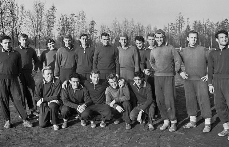 L'équipe du Spartak en 1959 (tass.ru)