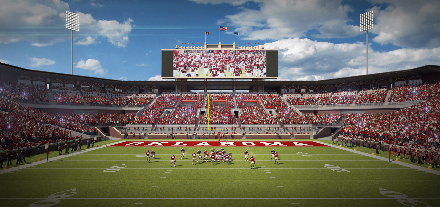 The Fall Of Troy Wallpaper Oklahoma Memorial Stadium Expansion On Schedule Football