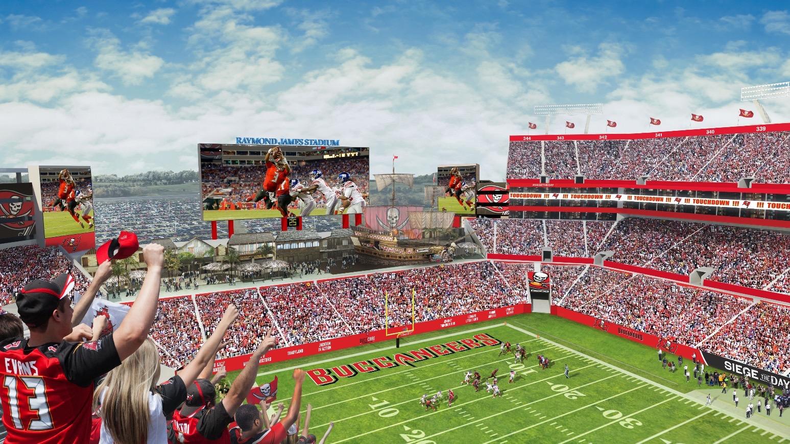 Philadelphia Eagles Wallpaper Hd Raymond James Stadium Renovations Begin Football Stadium