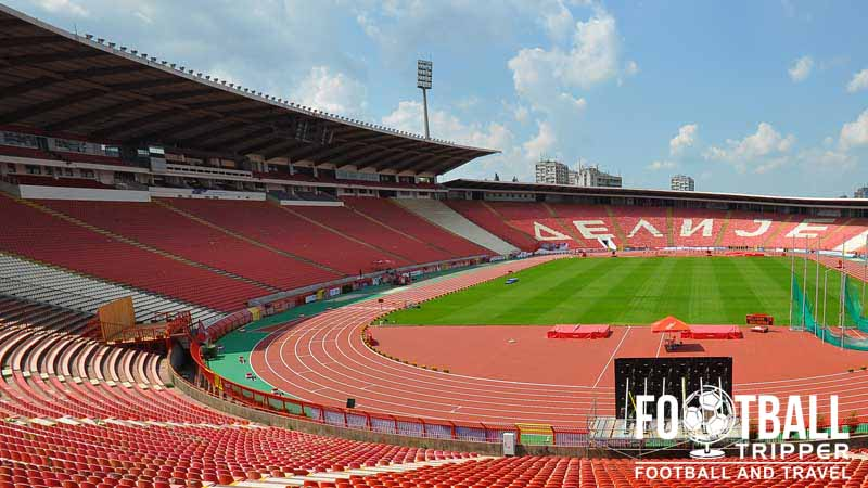 Red Star Stadium Red Star Belgrade Football Tripper