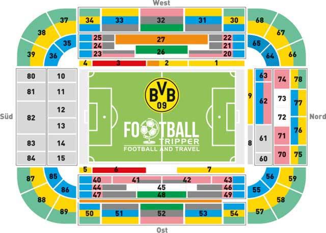 Signal Iduna Park Borussia Dortmund Football Tripper
