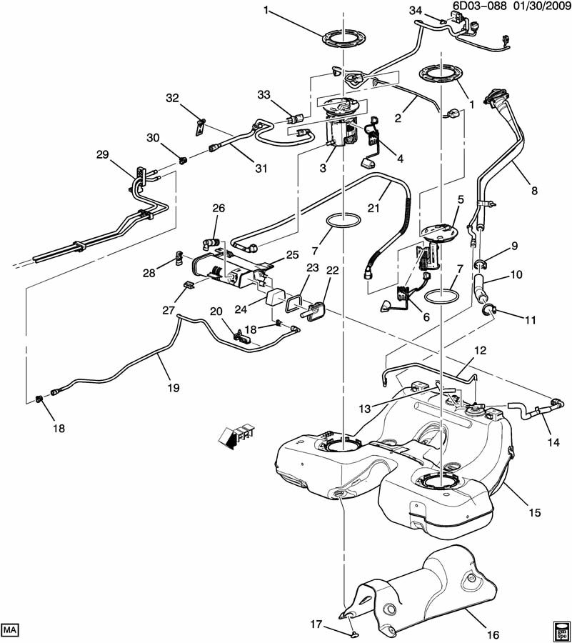 2000 cadillac escalade engine diagram