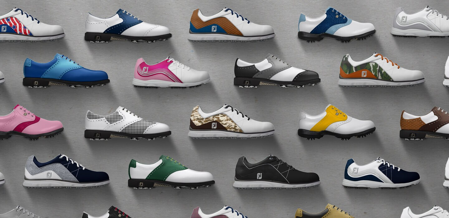 Schuhe Gestalten Custom Golf Shoes With Myjoys Footjoy