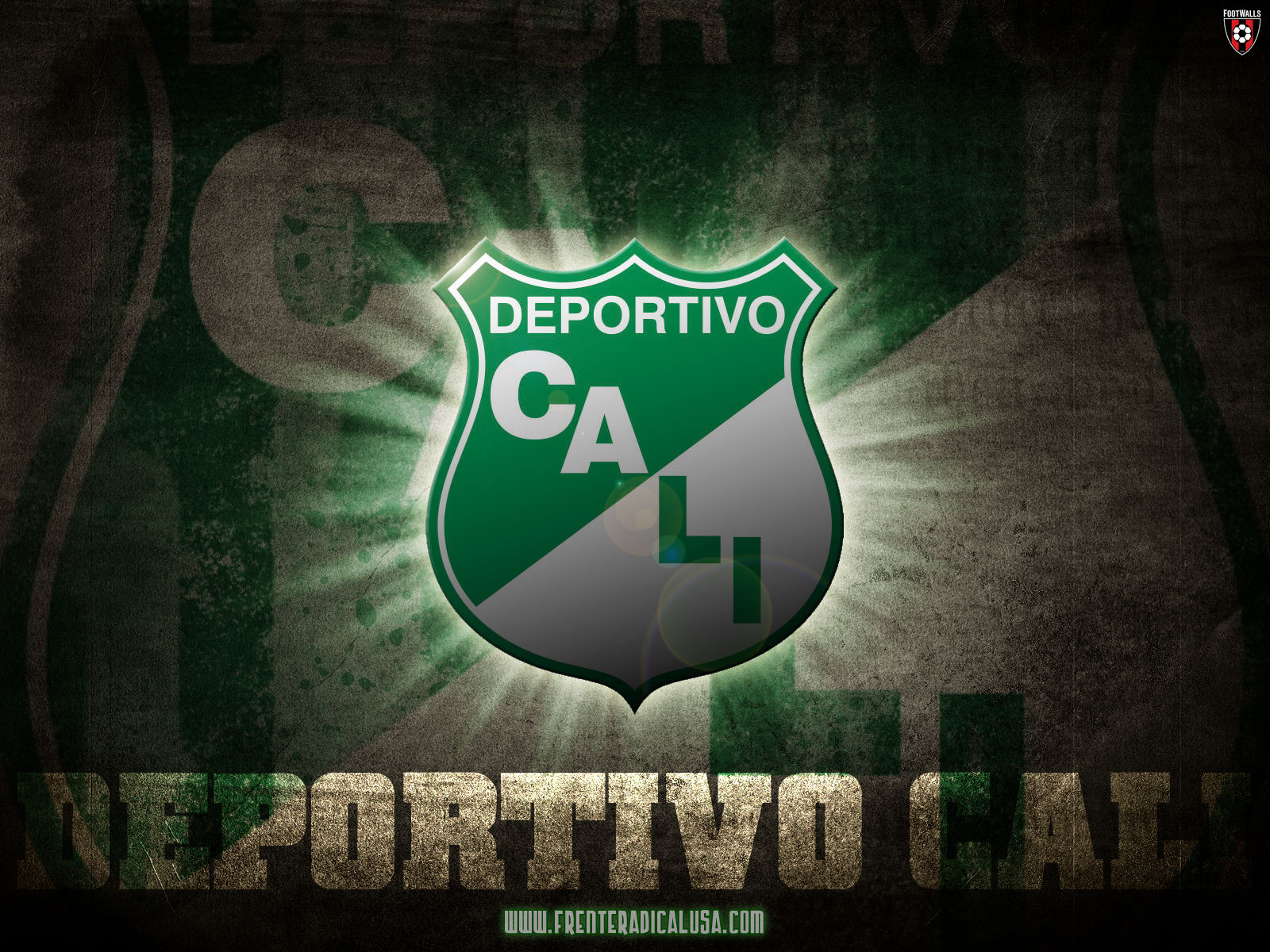 Manchester United Logo Wallpaper 3d Deportivo Cali Wallpaper 6 Football Wallpapers