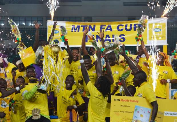 Medeama 2015 FA Cup winners - Footy-Ghana
