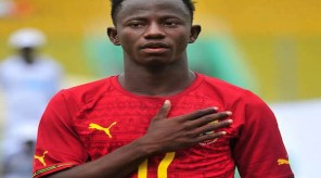 Yaw Yeboah of Ghana at African Youth Championship U-20 qualifying first leg match ©Christian Thompson/BackpagePix