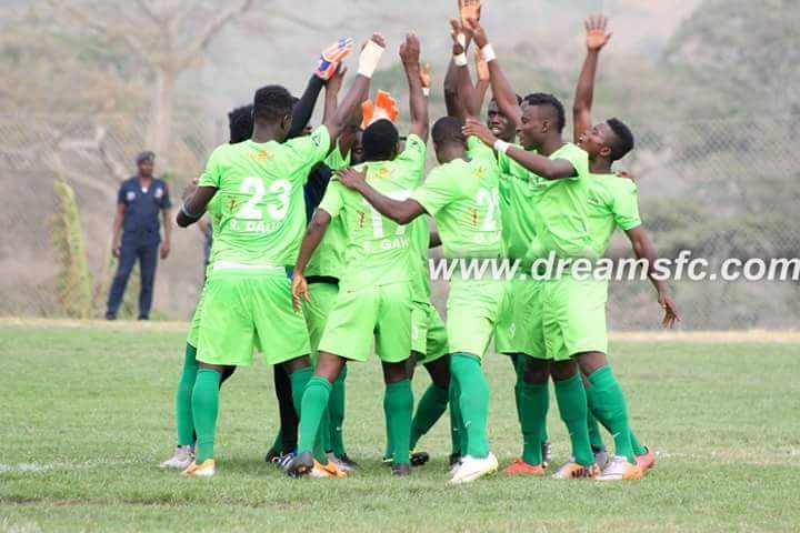 Dreams FC getting charged for victory