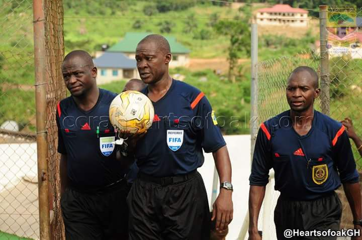 Referee Seidu Bomison & co