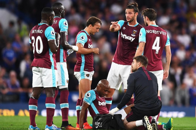 Andre Ayew - West Ham injury
