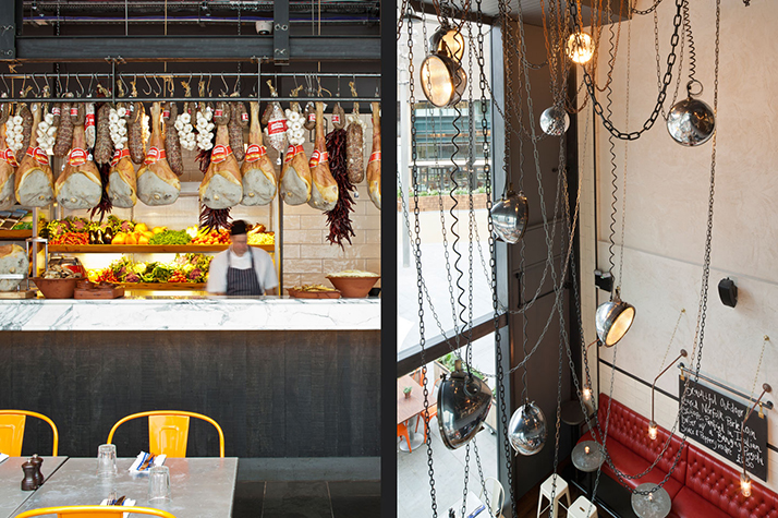 Decoration Interieur Studio Le Restaurant Au Style Industriel De Jamie Oliver
