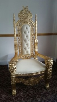 Secondhand Prop Shop | Thrones and Wedding Chairs | Crown ...