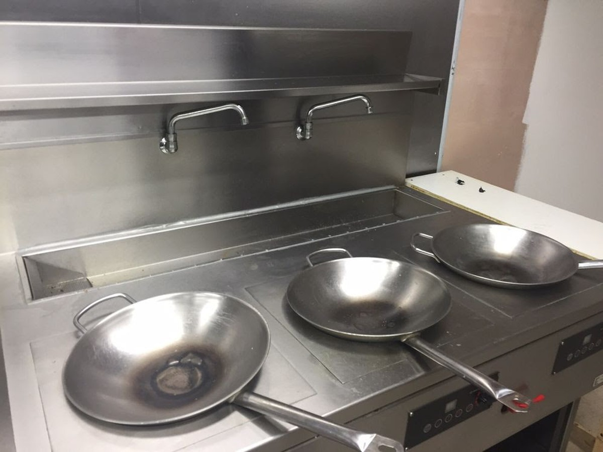 Induction Wok Secondhand Catering Equipment Wok Cooker Induction Wok