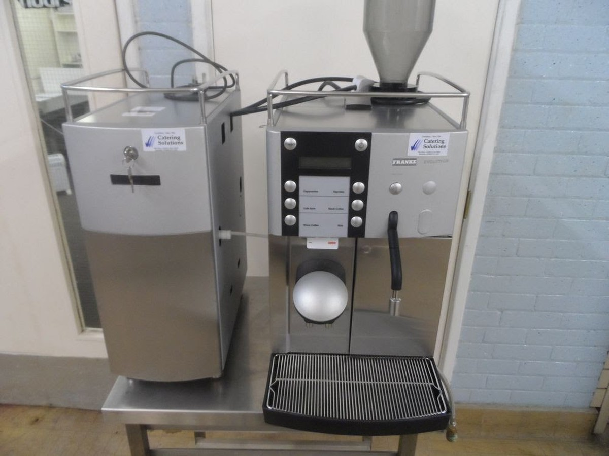 Franke Coffee Systems Secondhand Catering Equipment Bean To Cup Coffee Machines