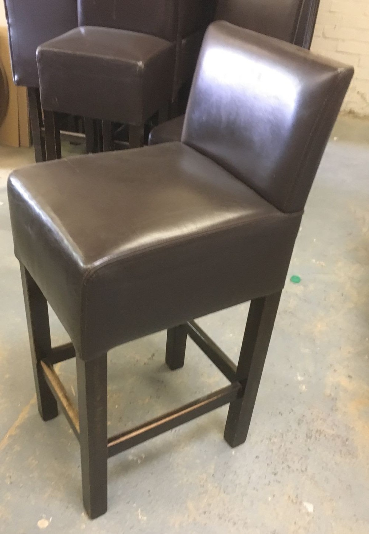 High Back Stools Secondhand Pub Equipment Bar Stools 20x Leather High
