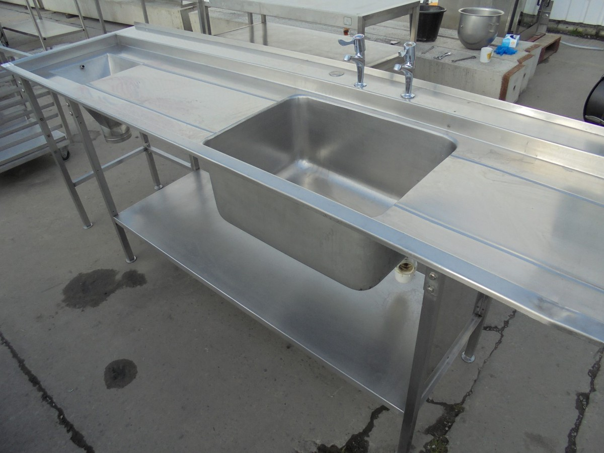 Secondhand Catering Equipment Single Sinks Used