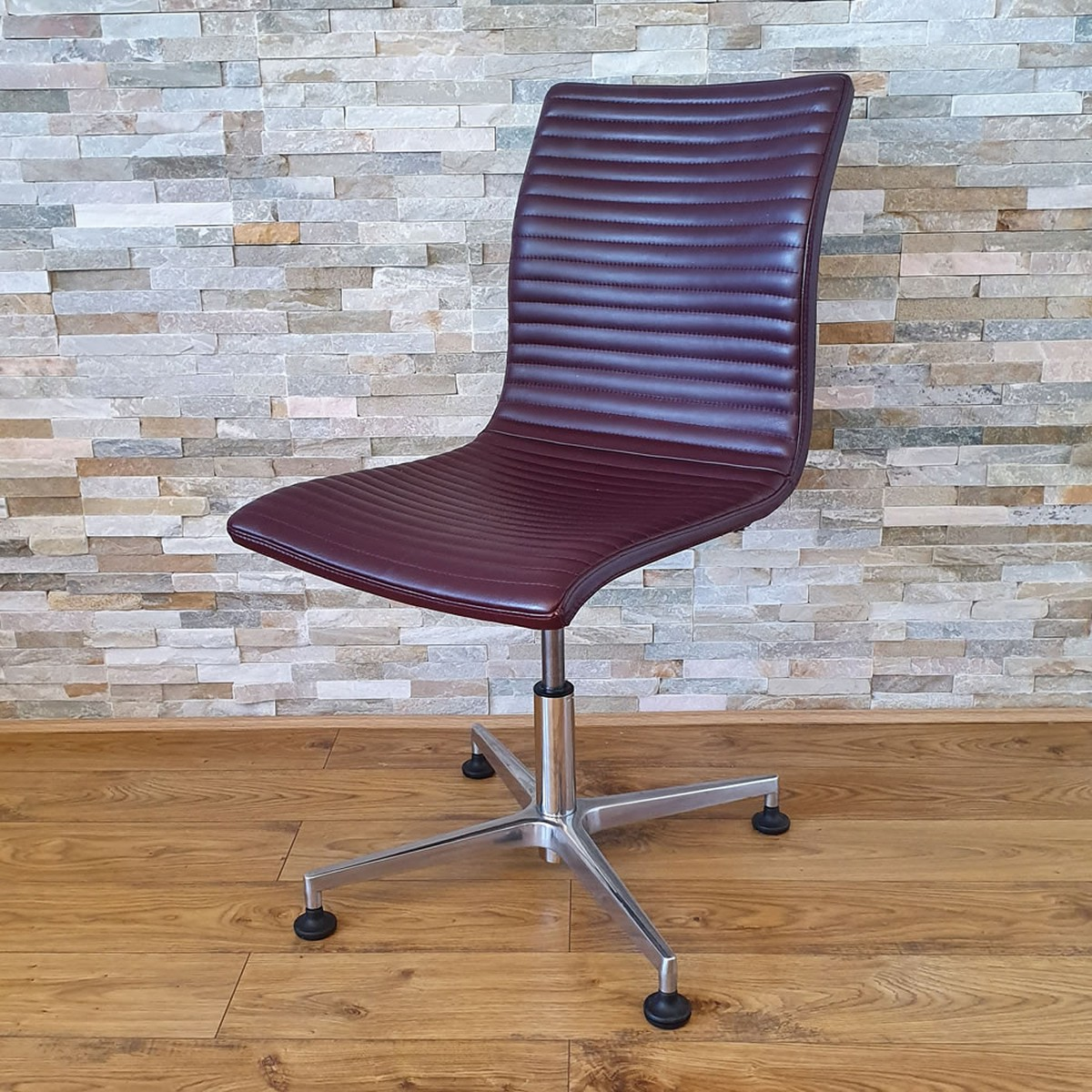 Designer Chairs Used 60x Used Designer Real Leather Desk Dressing Table Chair Product Code Mf3260 Peterborough Cambridgeshire