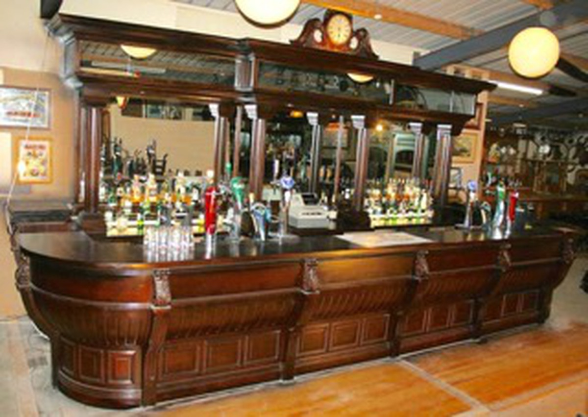 Equipement Bar Secondhand Pub Equipment Reclaimed Bars Mahogany Bar