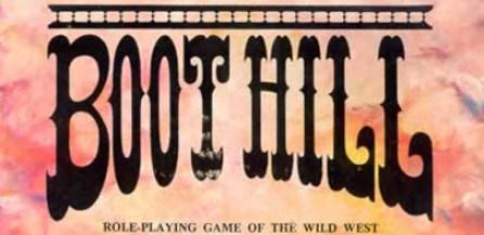 Boot Hill RPG Logo