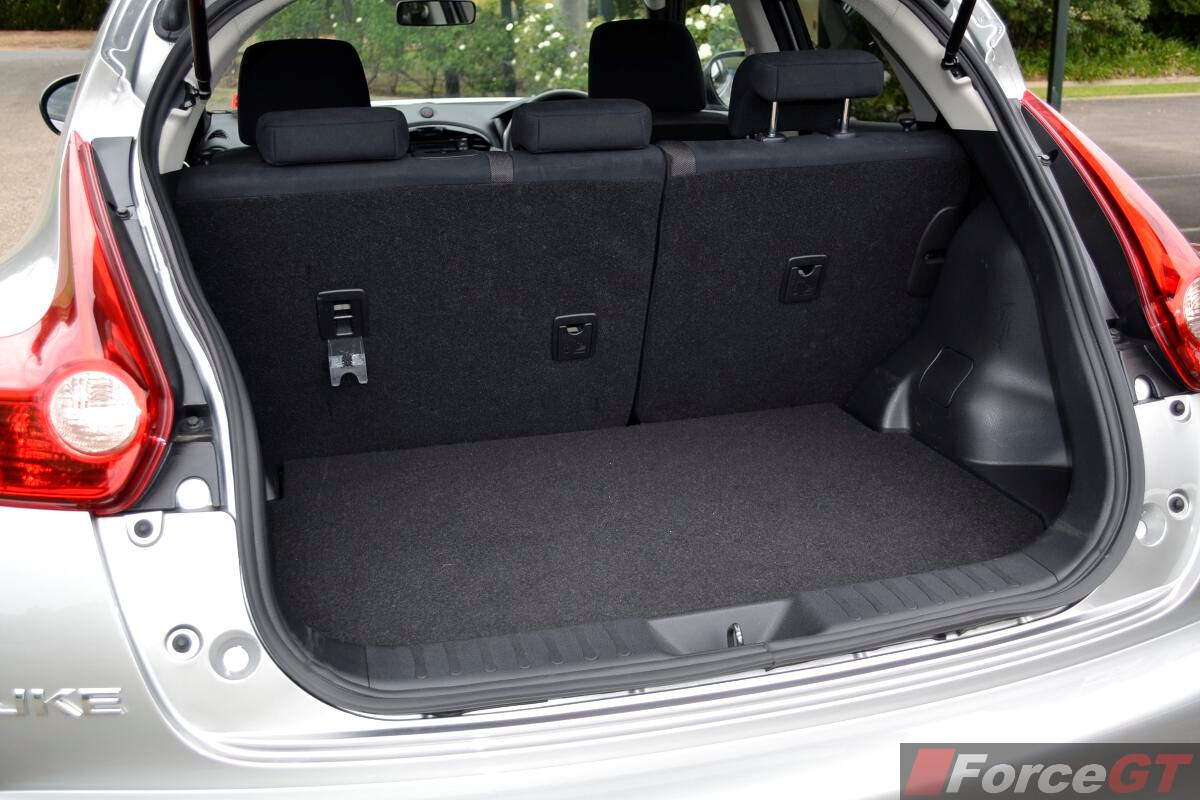 Qashqai Boot Space 2014 Nissan Juke St S Boot Space Forcegt