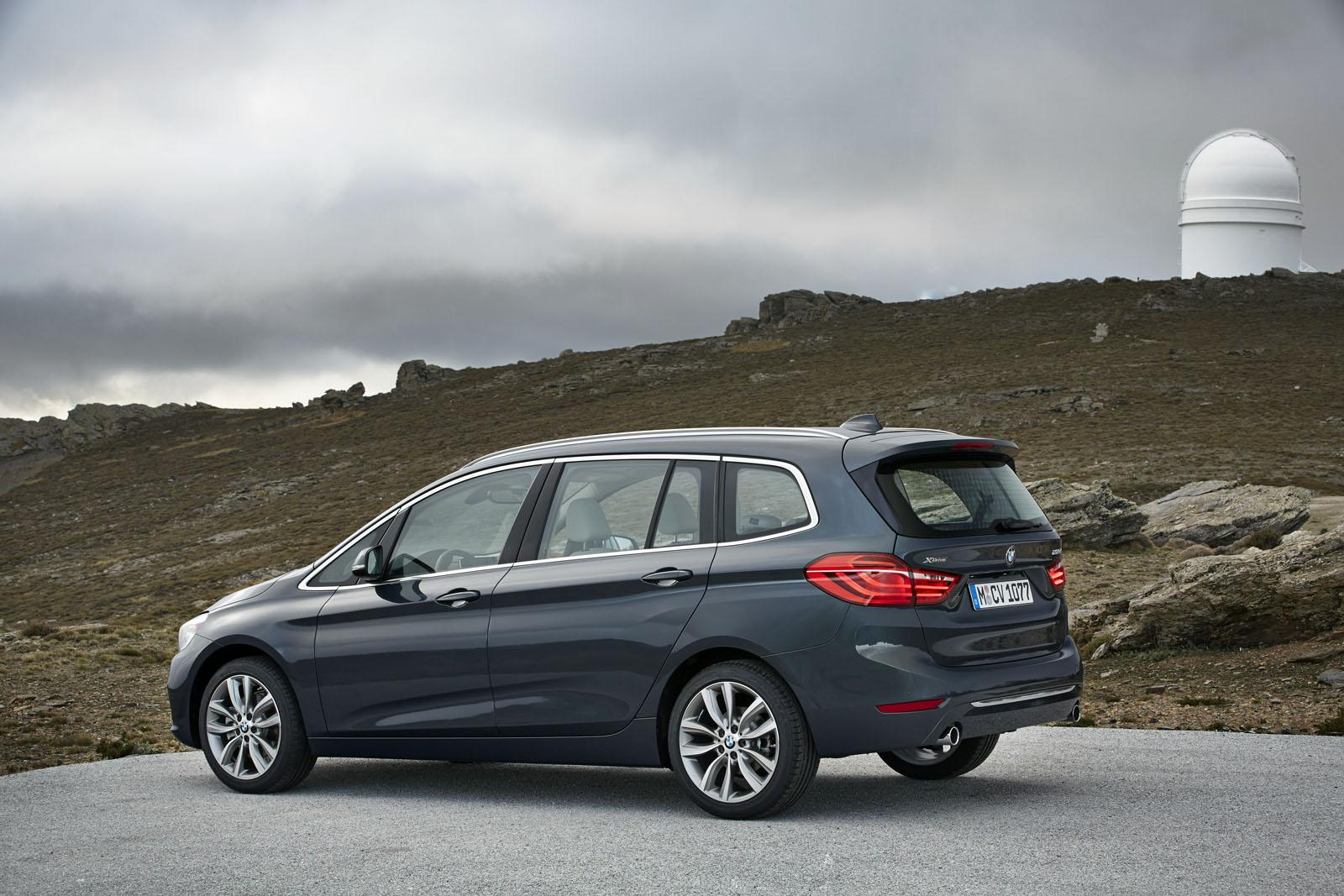 Bmw 2 Series Length Bmw Cars News 7 Seats Bmw 2 Series Gran Tourer Unveiled
