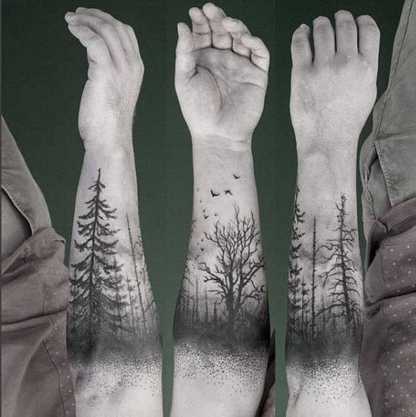 30 awesome forearm tattoo designs for creative juice for Forearm tattoo sketches