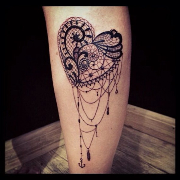 Celebrate Femininity With 50 Of The Most Beautiful Lace Tattoos ...