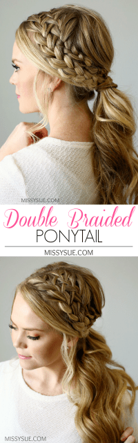 The Prettiest Braided Hairstyles for Long Hair with ...