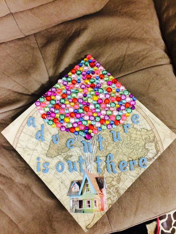 Graduation Hat Cake Decoration