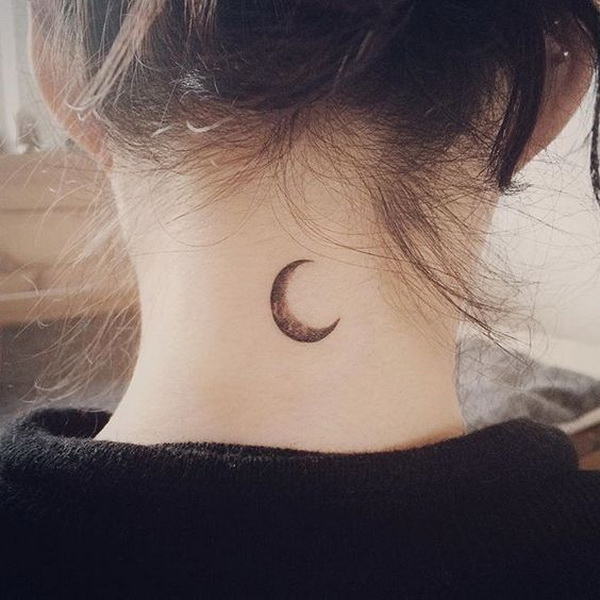 Examples of amazing and meaningful moon tattoos for creative juice
