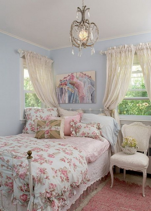 Shabby Chic Schlafzimmer 30+ Cool Shabby Chic Bedroom Decorating Ideas - For